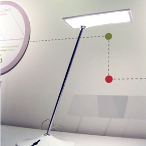 Humanscale Horizon Light designed by Peter Stathis and Michael McCoy